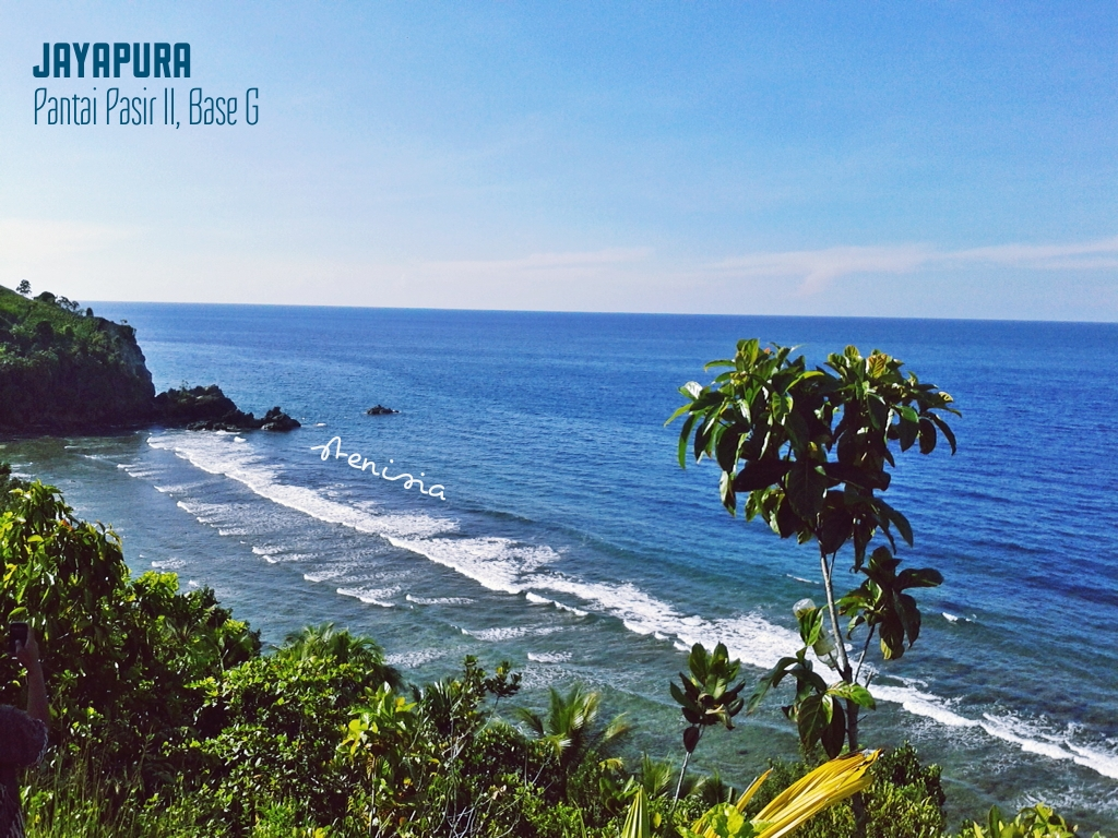 Perkenalan Jayapura Pantai Pasir Ii 040713 Journey Jauh Keramaian Kota
