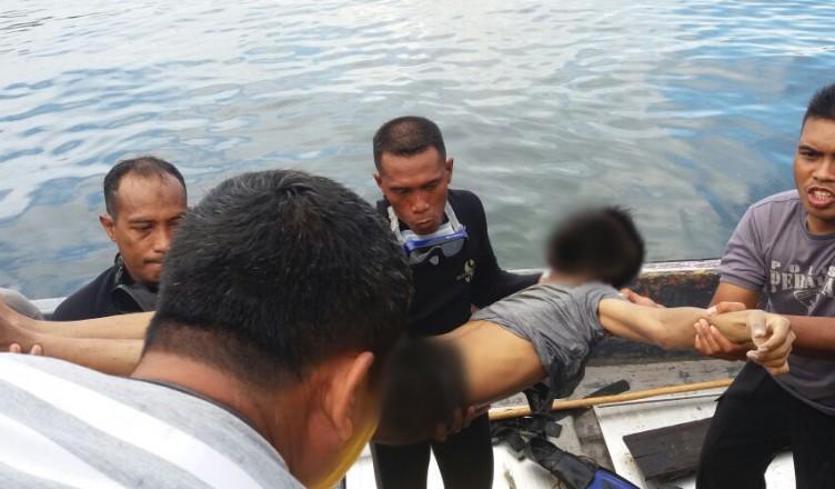 Polair Polda Papua Berhasil Menemukan Warga Tenggelam Pantai Base Jayapura