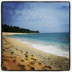 Tablanusu Beach Papua Jayapura Indonesia Damn Love Baseg Pantai Base