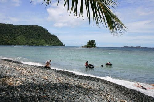 Tablanusu Beach Papua Jayapura Indonesia Damn Love Pantai Base Kab