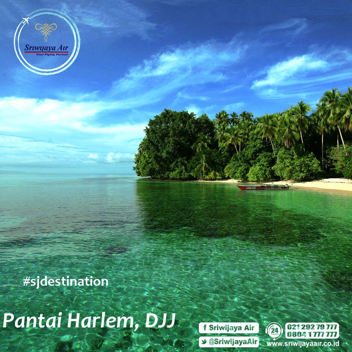 Foto Pantai Harlem Lokasi Terletak Kawasan Distrik Depapre Jayapura Kab