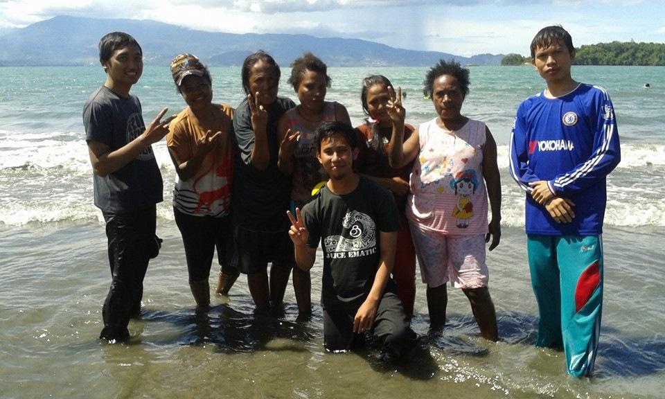 Kisah Perjalanan Dakwah Dai Muda Muhammadiyah Bumi Papua Pantai Holtekamp