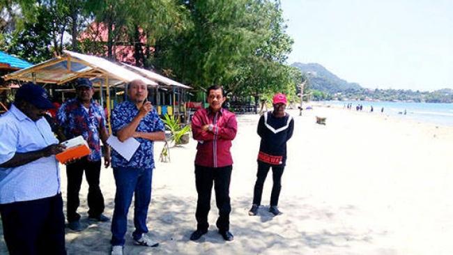 Pemerintah Kota Jayapura Mulai Kembangkan Kawasan Pariwisata Wakil Wali Rustan