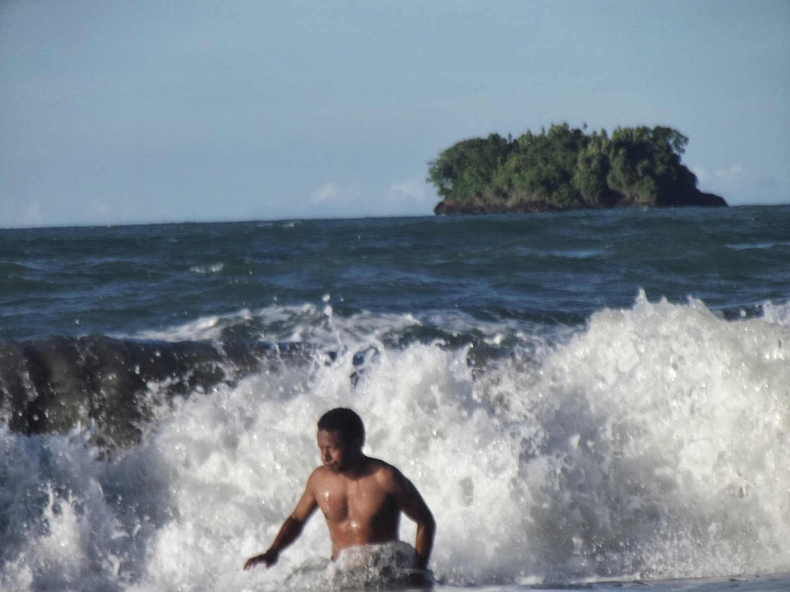 Traveling Papua Pantai Holtekamp Jayapura Document Foto Hotelkamp Kab