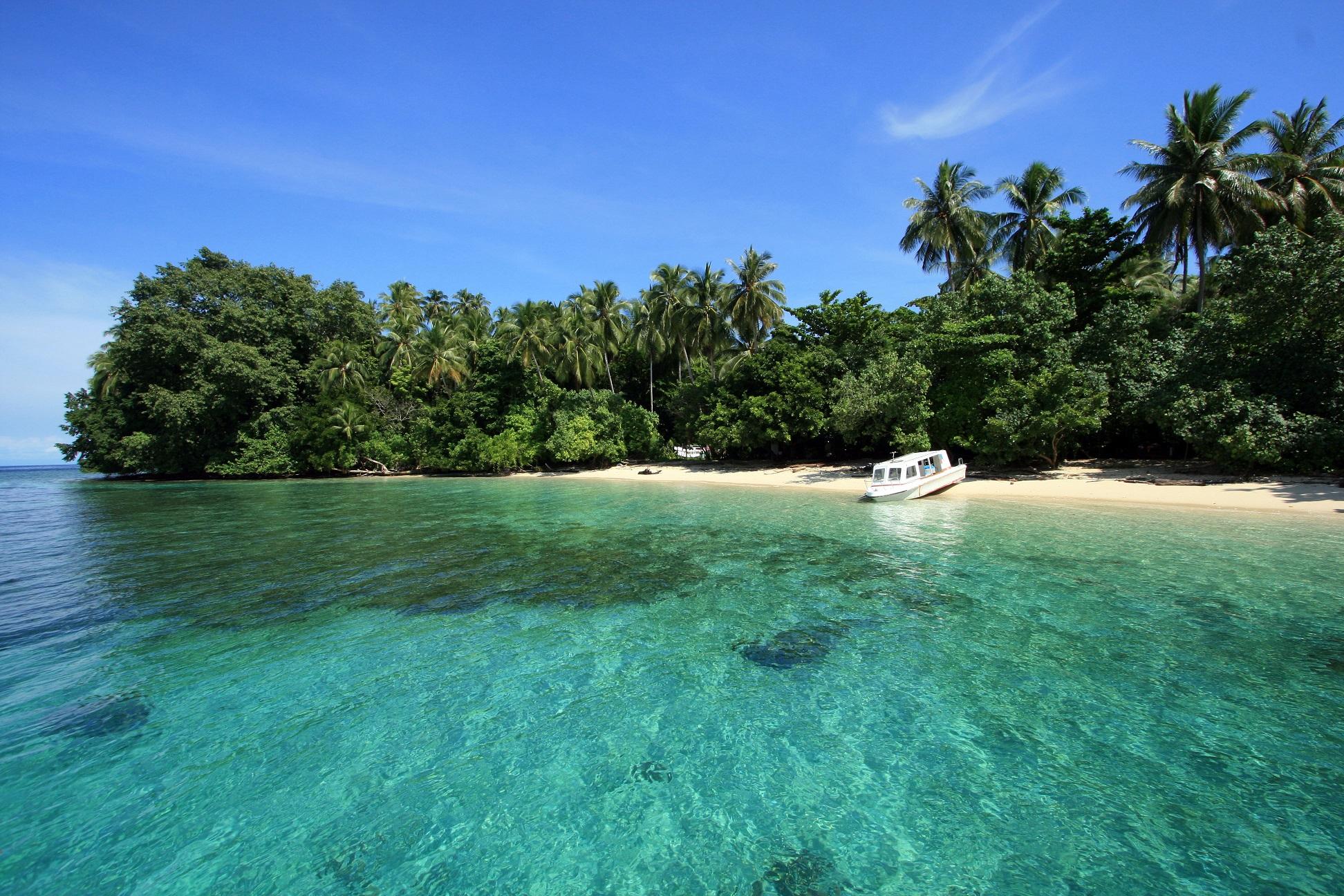 10 Tempat Wisata Papua Wajib Dikunjungi Taman Nasional Teluk Cenderawasih