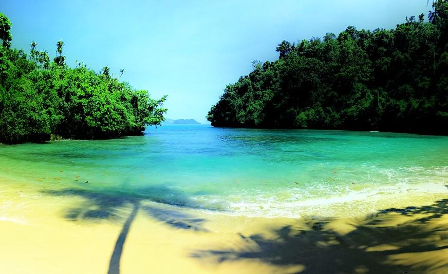 17 Tempat Wisata Jayapura Papua Hits Dikunjungi Pantai Hotelkamp Pasir