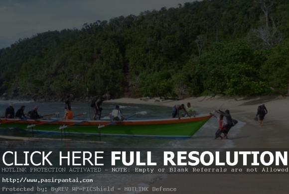 Nelayan Pantai Pasir Enam Pasirpantai 6 Kab Jayapura