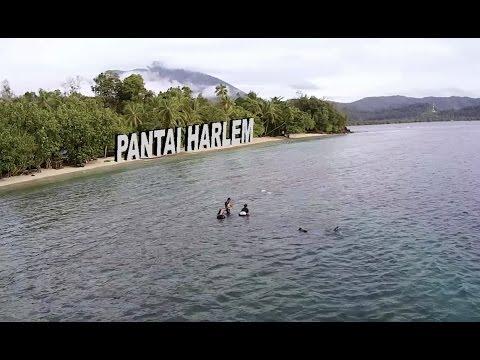 Pantai Harlem Jayapura Drone Adventure Vlog14 Youtube Pasir 6 Kab