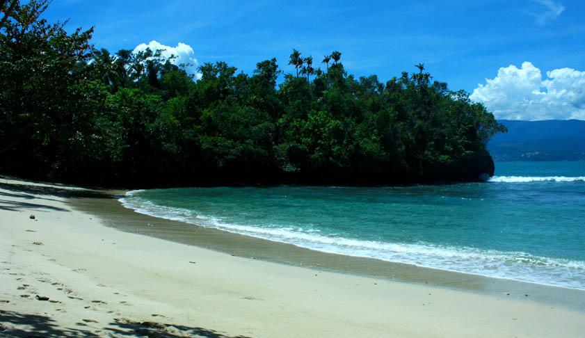 Pantai Pasir Putih Holtekamp Keindahan Alam Papua 6 Kab Jayapura