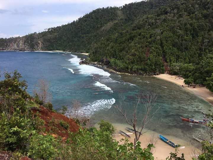 Pasir Enam Didorong Jadi Kawasan Wisata Berita Papua Pantai 6