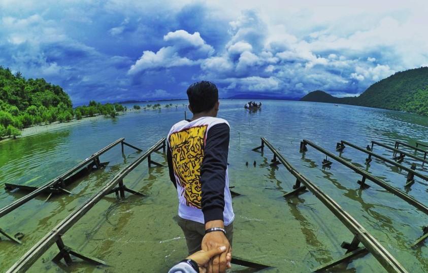 17 Tempat Wisata Jayapura Papua Hits Dikunjungi Teluk Youtefa Pantai