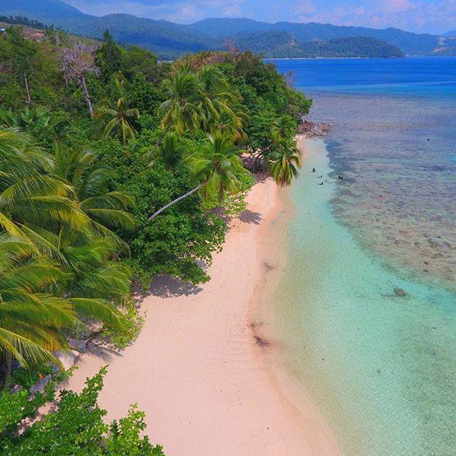 Mutiara Hitam Ujung Timur Indonesia Menympan Berbagai Pesona Ilustrasi Pantai