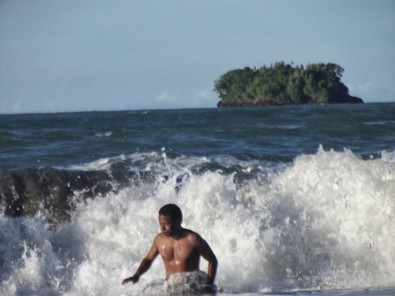 Traveling Papua Pantai Holtekamp Jayapura Document Foto Yacoba Kab