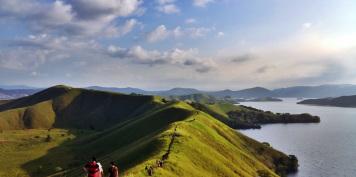 Wisata Jayapura Situs Carter Menikmati Keindahan Sunset Kota Mengunjungi Bukit