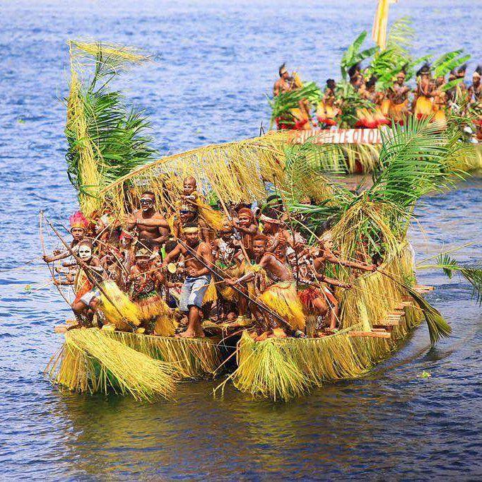 Wisata Papua Danau Sentani Pantai Yacoba Kab Jayapura
