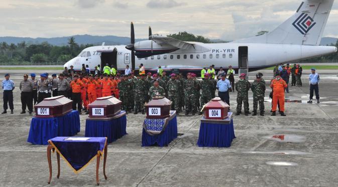 Aviastar Musibah Berulang News Liputan6 Upacara Serah Terima Jenazah Korban
