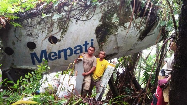 Bangkai Pesawat Merpati Ditemukan Kenangan Kecelakaan Nusantara Airlines Warga Februari
