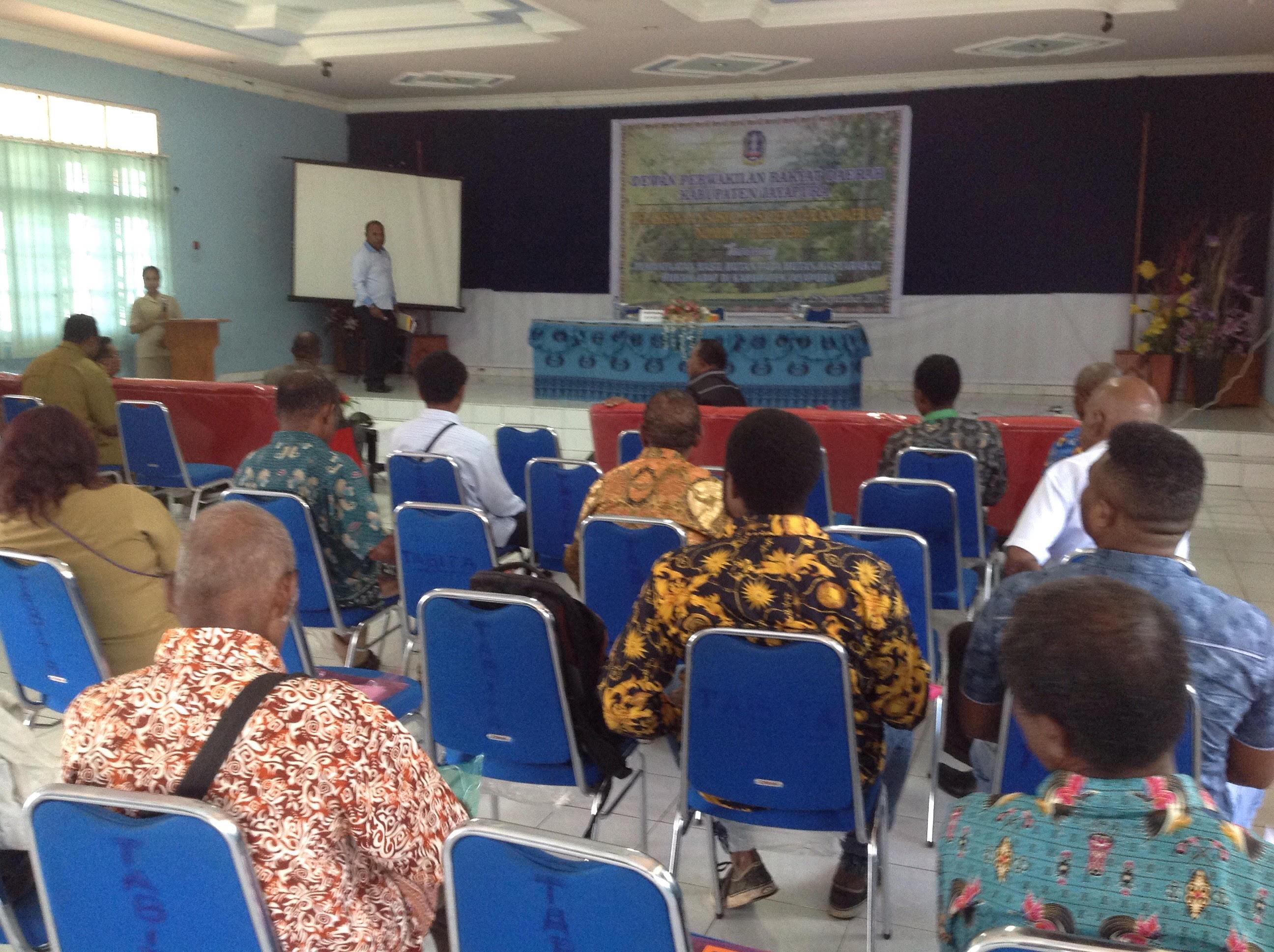 Dprd Sosialisasikan Perda Tentang Hutan Berita Papua Peraturan Daerah Nomor