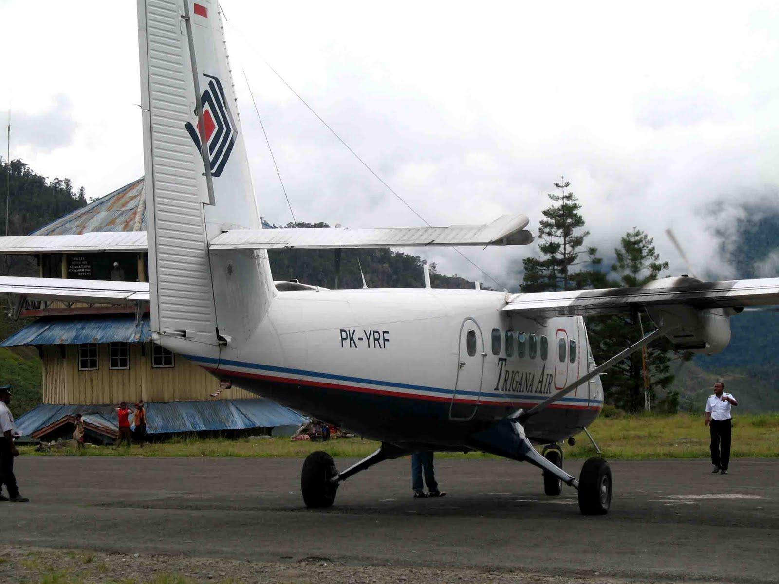 Ediginting Terbang Menuju Puncak Jaya Mengerikan Pesawat Tengah Hutan Kab