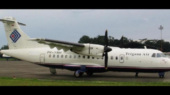 Kaca Retak Pesawat Trigana Air Mendarat Wamena Selamat Tengah Hutan