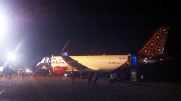 Lion Air Satu Satunya Pesawat Mendarat Bandara Depati Amir Pangkalpinang