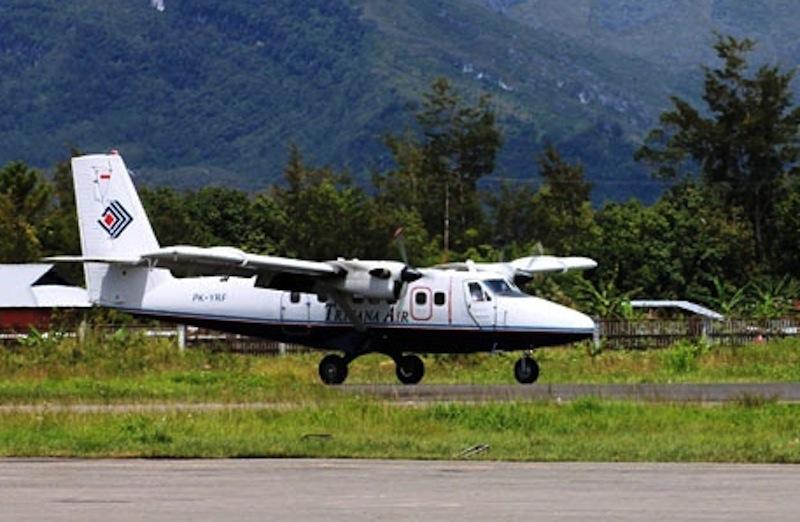Maskapai Trigana Disarankan Ubah Waktu Penerbangan Yahukimo Ilustrasi Pesawat Beroperasi