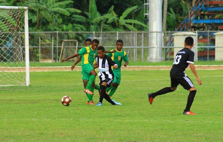 Menpora Cup Liga 14 Kabupaten Jayapura Bantai Sarmi 10 Gol