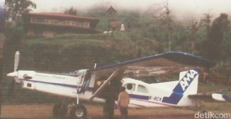 Pencarian Pesawat Ama Hilang Kontak Wamena Dilanjut Besok Tengah Hutan