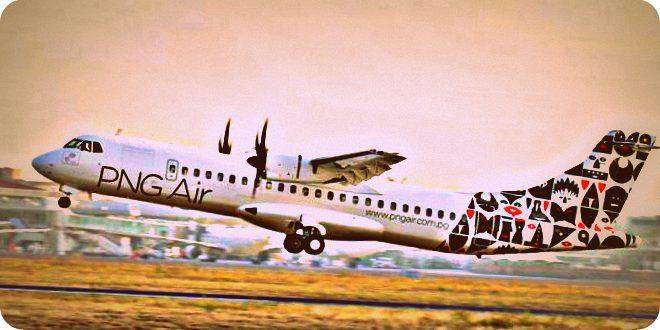 Png Air Mount Hagen Siap Mendarat Bandara Sentani Papua Kota