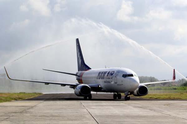 Rute Penerbangan Nam Air Rambah Tanah Papua Pesawat Tengah Hutan