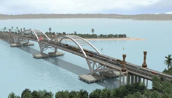 Foto Pembangunan Jembatan Holtekamp Jayapura Papua Dok Ditjen Bina Marga