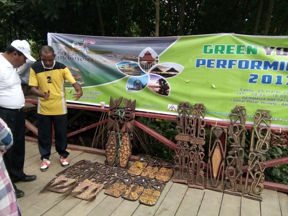 Green Youtefa Performing Art 2017 Diakhiri Ajakan Peduli Dermaga Abesauw