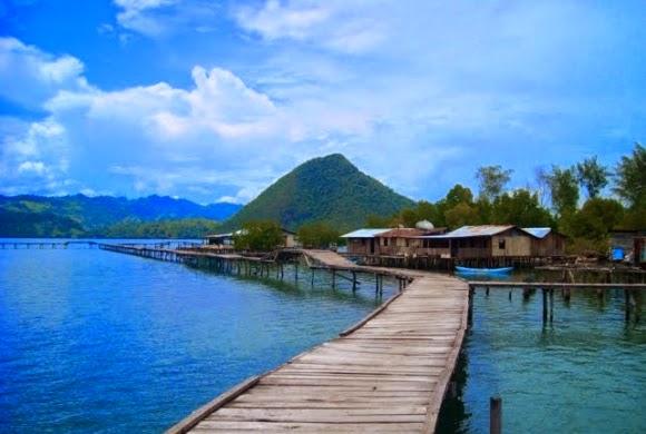 Indonesia Campur Wisata Alam Teluk Youtefa Jayapura Papua Kab