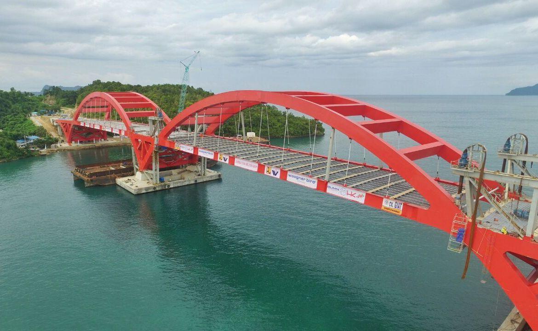 Jembatan Holtekamp 732 Meter Diatas Teluk Youtefa Tumbuhkan Pusat Ekonomi