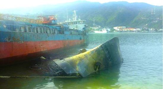 Kapal Milik Kemenhub Tenggelam Jayapura Tajuktimur Motor Km Papua Tiga