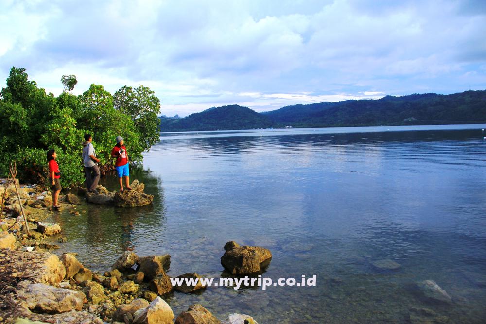 Nih Panduan Pantai Holtekamp Jayapura Mampir Sisi Teluk Youtefa Menanti