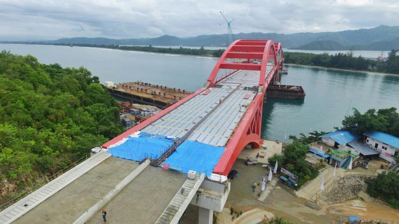 Presiden Tinjau Jembatan Holtekamp Jayapura Warta Nasional Teluk Youtefa Kab