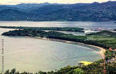 Skyline Teluk Youtefa Jayapura Papua Pic Irwan Chalid Hamadi Beach