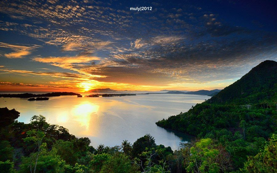Skyline Teluk Youtefa Jayapura Papua Pic Irwan Chalid Kab