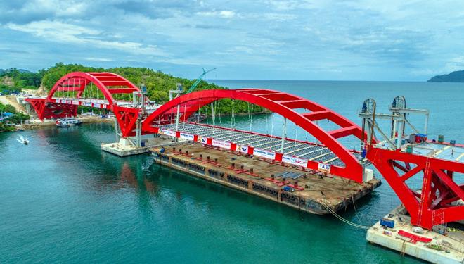 Tiga Hari Papua Presiden Jokowi Tinjau Jembatan Holtekamp Teluk Youtefa