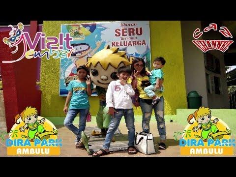 Dira Park Jember Caz Ll Vlog Visit 2017 East Java