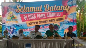 Rapat Dwj Distinasi Wisata Jember Dira Park Ambulu Liputan Tulis