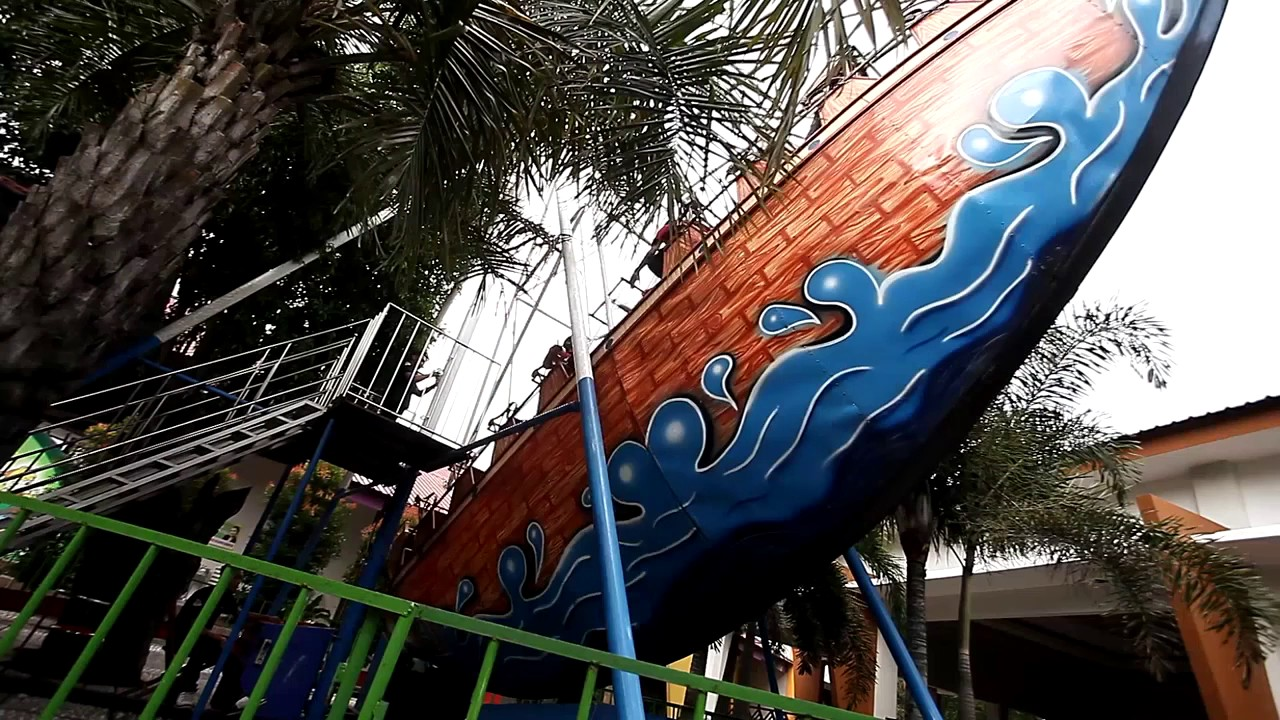Wahana Rekreasi Keluarga Dira Park Ambulu Jember Indonesia Youtube Kab