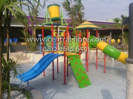 Water Playground Dira Park Central Fibre Detail Produk Kab Jember