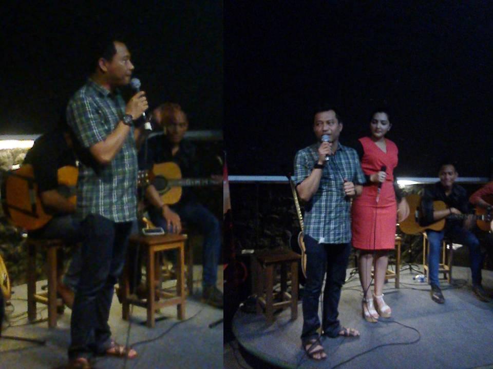 Enaselly Ariesta Mahapala Anang Hermansyah Blusukan Cafe Kolong Rasa Penasarannya