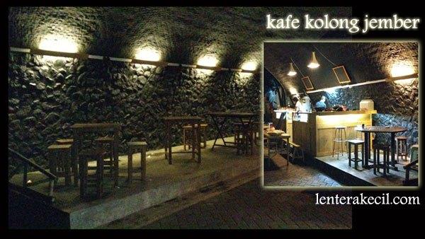 Kafe Kolong Jembatan Kota Jember Cafe Kab