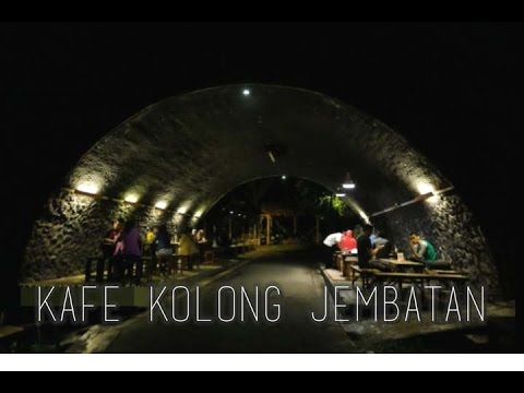 Kafe Kolong Jembatan Satu Satunya Indonesia Jember Update Kab