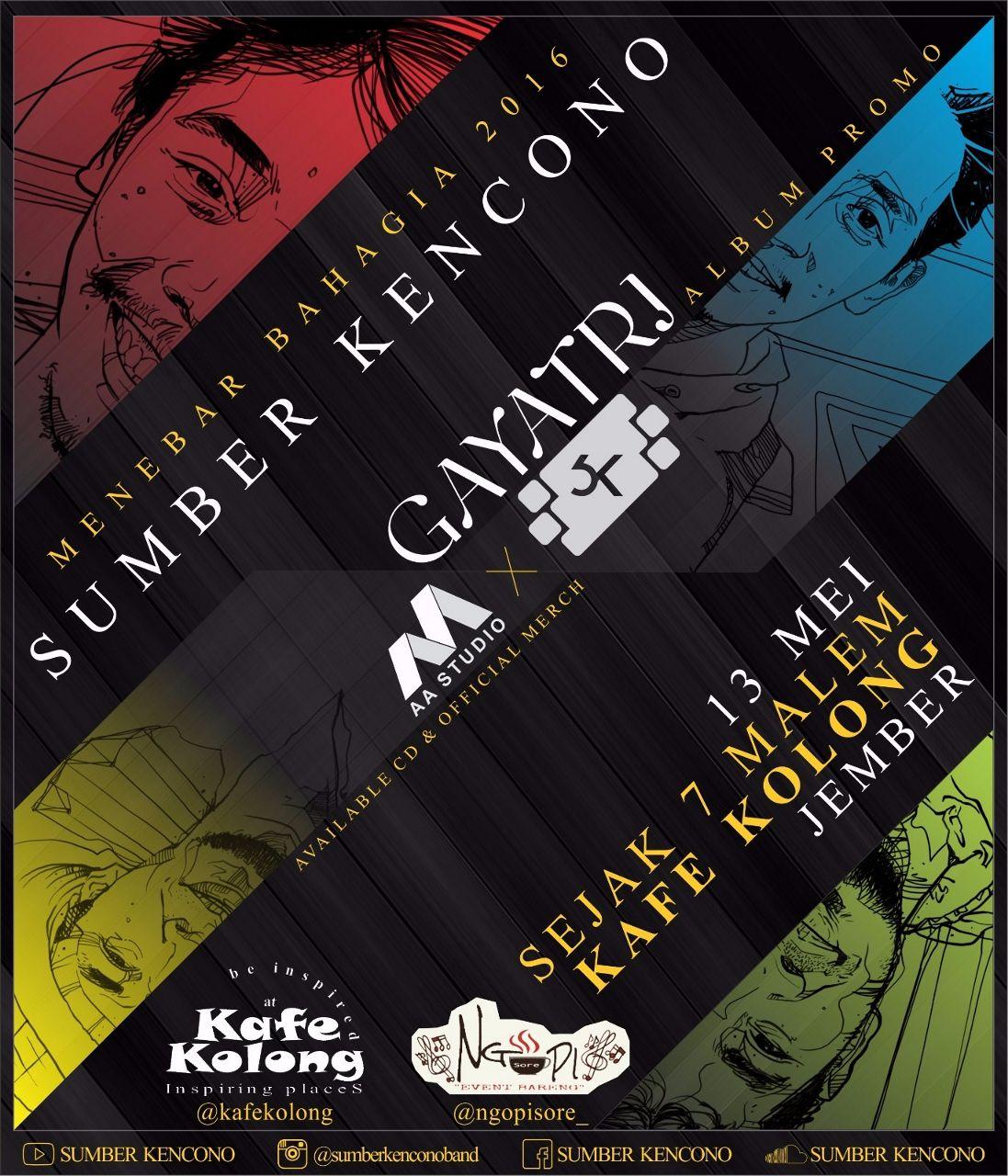 Kafe Kolong Jember Menebarbahagia 2ndalbumtour Kab