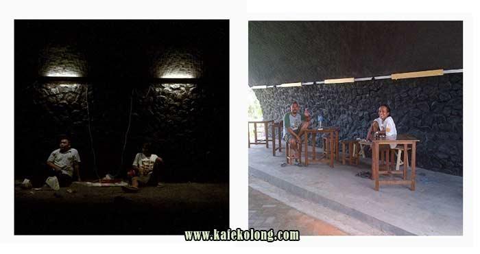 Pembangunan Awal Kafe Kolong Jember Kab