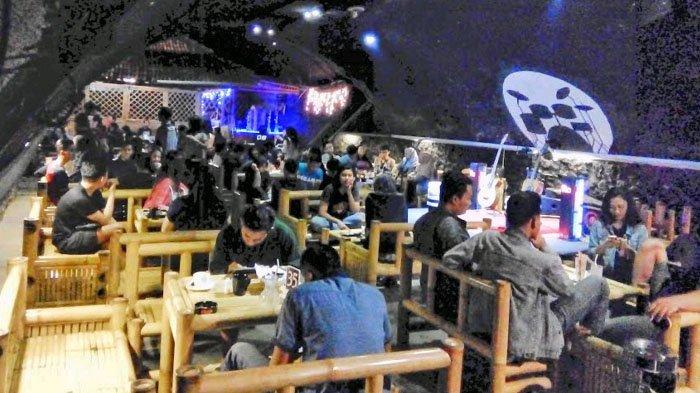 Tangan Kampret Kolong Jembatan Kumuh Disulap Jadi Kafe Kekinian Jember